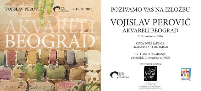 Отварање изложбе слика Војислава Перовића,07.новембар 2016./19ч