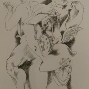 Оварање изложбе цртежа Горана Ј. Хорвата, Понедељак, 18.септембар 2017./ 19ч