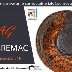 """Отварање самосталне изложбе """"Траг"""", Сање Сремац - субота, 16. децембар / 19ч"""
