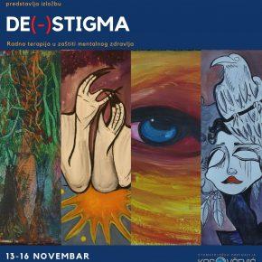 """Изложба """"Де(-)стигма"""", Центра интегративне окупационе терапије"""