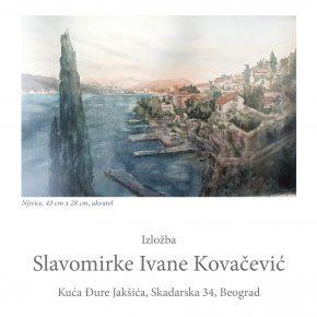 Изложба Славомирке Иване Ковачевић